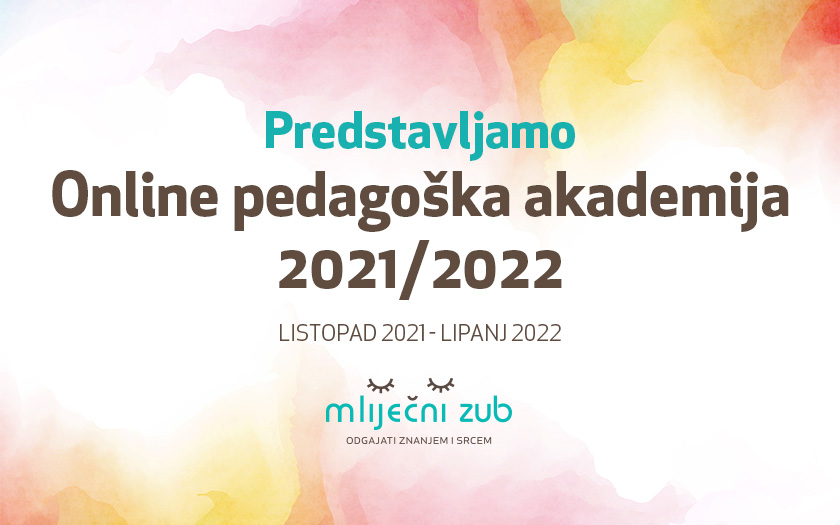 Online pedagoška akademija 2021/2022